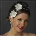 Evangeline Floral Bridal Headpiece