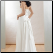 Chiffon Strapless Princess Wedding Dress - back of dress