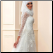 High Neckline Long Sleeve Lace Muslim Wedding Dress with Hijab - side view of dress