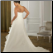 Plus Size One-Shoulder Organza and Satin - showing back of gown
