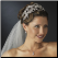 Princess Caroline of Monaco Rhinestone Royal Couture Tiara in silver - worn with wedding veil