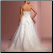 Princess Style Tulle over Satin Wedding Gown - view of elegant lace up back and delicate train