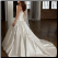 Satin Fit and Flare Wedding Gown - back of gown showing elegant silhouette and chaming lace-up back closure