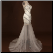 Satin Mini Sheath Sweetheart Neckline Gown with Long Tulle Skirt - side view