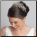 Simone Silver Wired Tiara With Crystals Side Headband