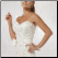 Sweetheart Neckline Strapless Wedding Dress - close up of bodice