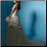 Taffeta and Lace Strapless Wedding Dress showing back of gown