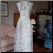 Vintage Jessica McClintock Floral Halter Neck Dress for rent size 12