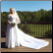 "Off-the-Shoulder ""Forever Yours"" Bridal Gown showing train and length of gown"