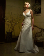 Casablanca Taffeta  Wedding Dress