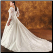 Long Sleeved Taffeta Wedding Gown - view of back of gown and train