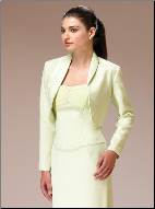 Satin Jacket with Collar