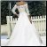 Princess Off the Shoulder Satin Wedding Gown - back of dress showing train
