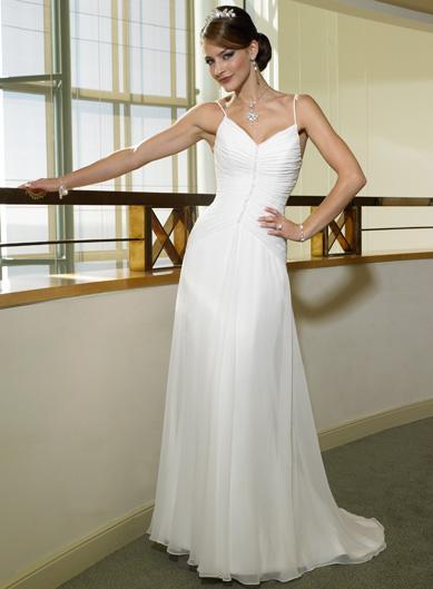Sale priced haute couture a line chiffon dress for Haute couture sale