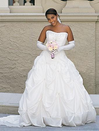 Plus Size Bridal Gloves