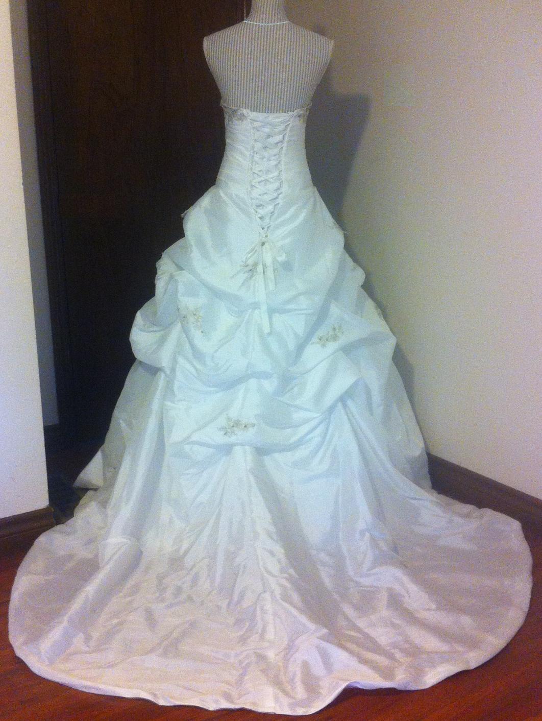 Exquisite taffeta princess style ballgown for rent london for Rent wedding dress london