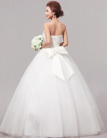 Organza and Satin Ballerina Ball Gown, $335.00, free shipping