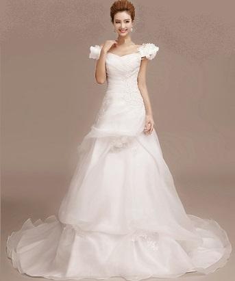 Sweet Southern Belle Wedding Dress With Sweetheart Neckline Free