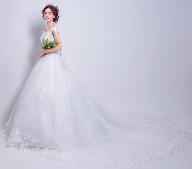 Organza Wedding Gowns: Embroidered Organza Wedding Gown, La Robe Brodée De Mariée