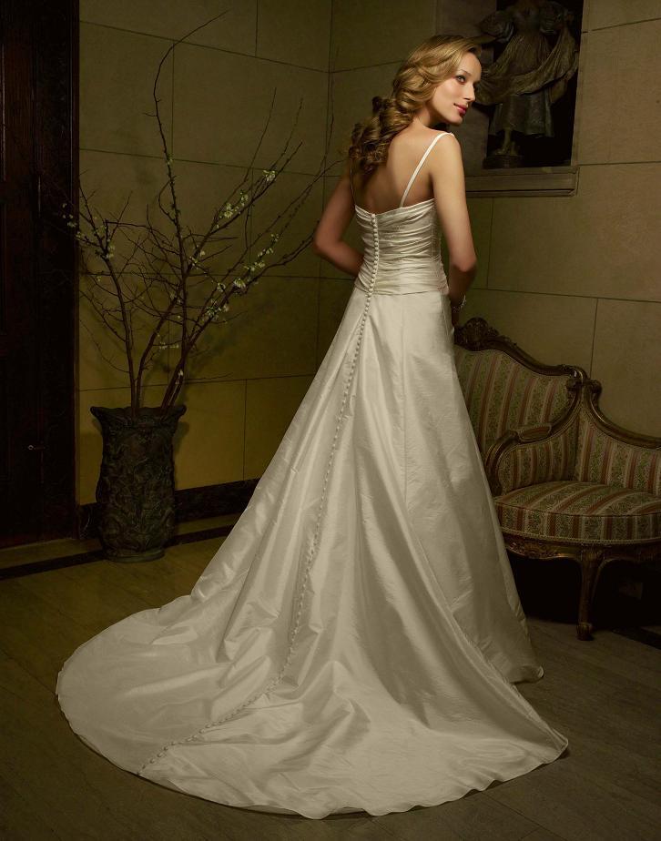 Casablanca Taffeta Wedding Dress, $375.00 - Classic Wedding Gown ...
